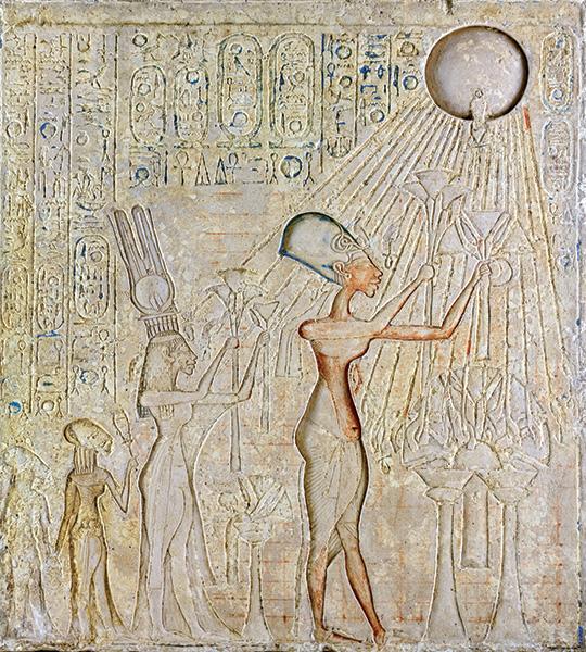 akhenaten the leader